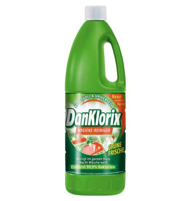 Hygienereiniger frischer Duft grün Flasche 1,5 Liter