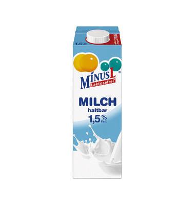 H-Milch 1,5% 1L laktosefrei fettarm Minus-L