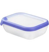 Frischhaltebox GrandChef 1,2 Liter transparent/blau 200x150x65 Kunststoff