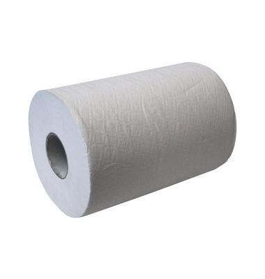 Rollenhandtücher 286001 2-lagig Tissue hochweiß 6 Rollen
