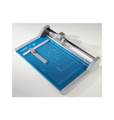 Rollenschneider A4 36cm Sch.länge 20 Blatt blau