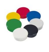Magnete 38mm bis 2,5kg rund farbig sortiert
