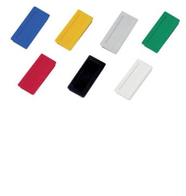 Magnete bis 1,0kg rechteckig farbig sortiert
