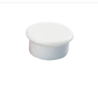 Magnete 13mm bis 100g rund weiß