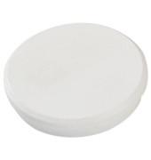 Magnete 32mm bis 800g rund weiß