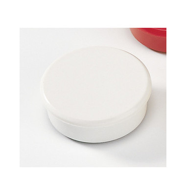 Magnete 38mm bis 2,5kg rund weiß