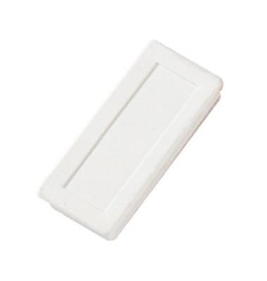 Magnete bis 1,0kg rechteckig weiß