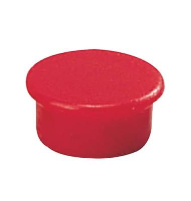 Magnete 13mm bis 100g rund rot