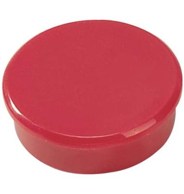 Magnete 38mm bis 2,5kg rund rot