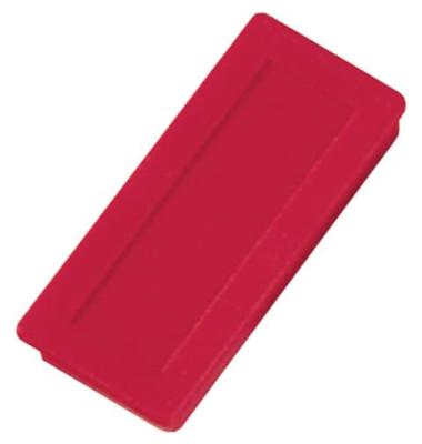 Magnete bis 1,0kg rechteckig rot