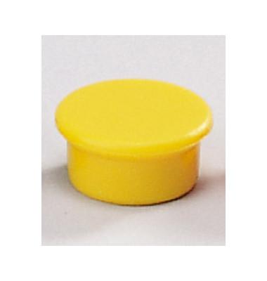 Magnete 13mm bis 100g rund gelb