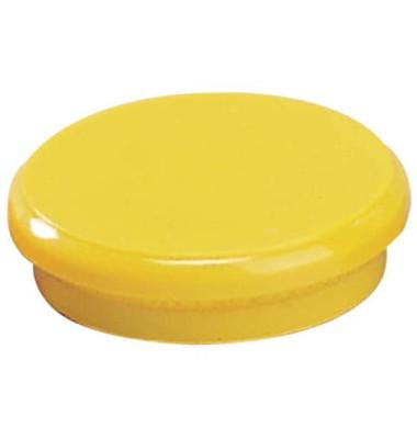 Magnete 24mm bis 300g rund gelb
