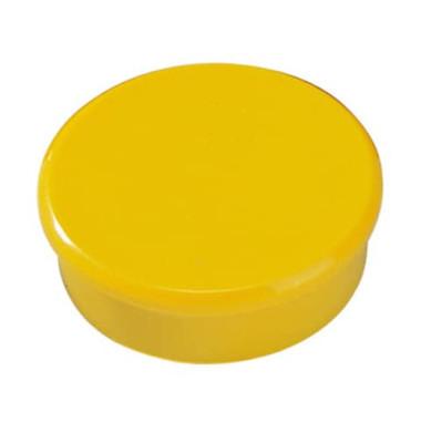 Magnete 38mm bis 2,5kg rund gelb