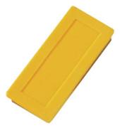 Magnete bis 1,0kg rechteckig gelb