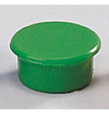 Magnete 13mm bis 100g rund grün