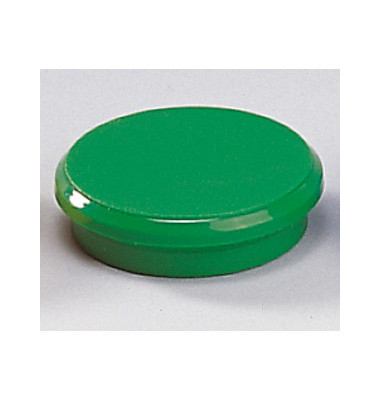 Magnete 24mm bis 300g rund grün