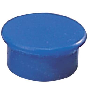 Magnete 13mm bis 100g rund blau