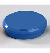 Magnete 24mm bis 300g rund blau