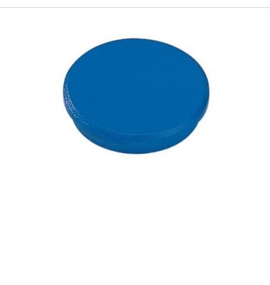 Magnete 32mm bis 800g rund blau
