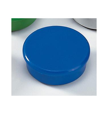Magnete 38mm bis 2,5kg rund blau