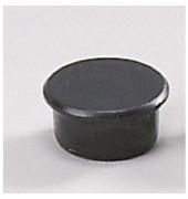 Magnete 13mm bis 100g rund schwarz