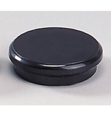 Magnete 24mm bis 300g rund schwarz