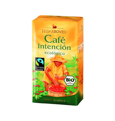 Cafe Intencion ecologico BIO gemahlen 500g