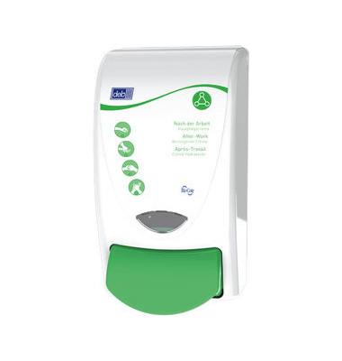 Pflegemittelspender RES1LDSMD Restore 1L weiß/grün