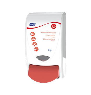 Desinfektionsmittelspender Schaum SAN1LDSMD Sanitise 1L weiß/rot