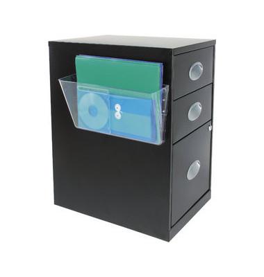 Wandprospekthalter transparent DIN A4 quer