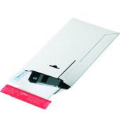 Versandtasche Rigid 260x345x30 mm C4 ohne Fenster Vollpappe weiß 1 Stück