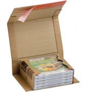 Versandkarton für 1-5 CD 147x126x55 mm braun 1 Stück