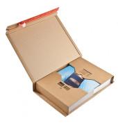 Versandverpackung z.Wickeln braun 455x320x70 DIN A3