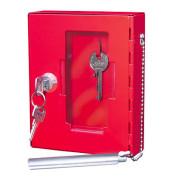 Notschlüsselkasten rot 120x40x150mm