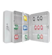 Schlüsselschrank für 110 Schlüssel lichtgrau Sicherheitsschloss