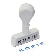 """Stempel mit Text """"KOPIE"""" weiß"""
