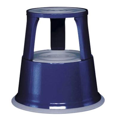 Rollhocker 2121 Stahl blau 44cm hoch 4,9kg