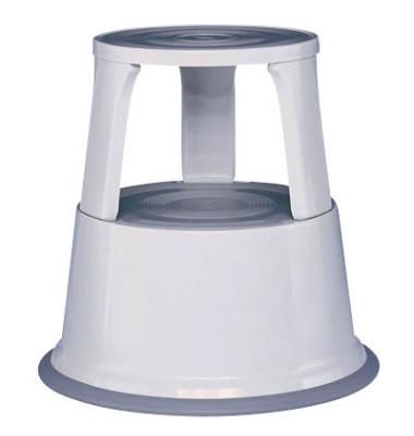 Rollhocker 2121 Stahl lichtgrau 44cm hoch 4,9kg