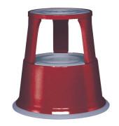 Rollhocker 2121 Stahl rot 44cm hoch 4,9kg