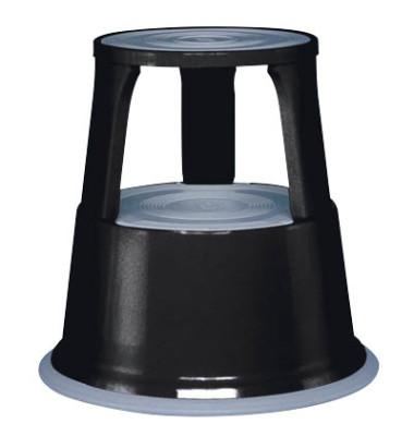 Rollhocker 2121 Stahl schwarz 44cm hoch 4,9kg