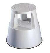 Rollhocker Step 2122 Kunststoff weiß 43cm hoch 2,8kg