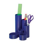 Schreibgeräteköcher junior blau 6 Röhren