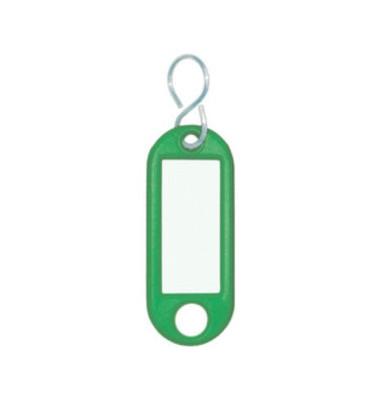 Schlüsselanhänger mit Etikett S-Hacken grün