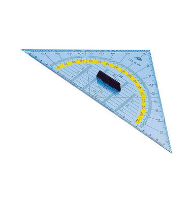 Geo-Dreieck 25cm transparent