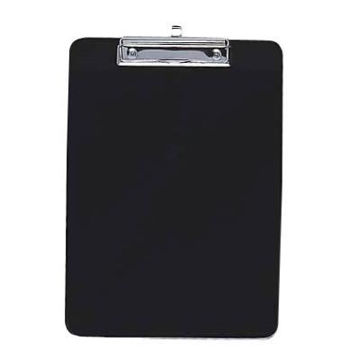Klemmbrett 57-601 A4 schwarz 227x317mm Kunststoff mit Aufhängeöse