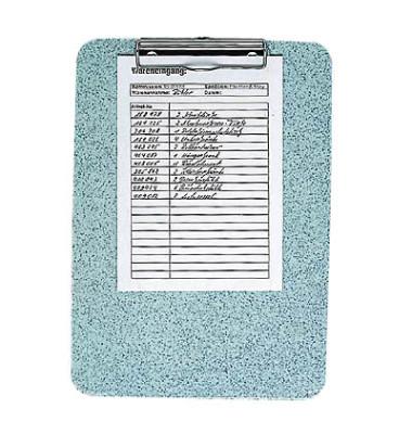 Klemmbrett 57-670 A4 granit 227x317mm Kunststoff mit Aufhängeöse