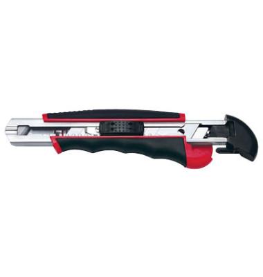 Cutter Auto-Load schwarz/rot 18mm Klinge 78418