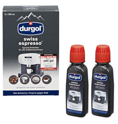 durgol entkalker spezial swiss espresso f r. Black Bedroom Furniture Sets. Home Design Ideas