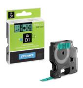 D1-Band für LabelPOINT -MANAGER schwarz grün 9mm x 7m