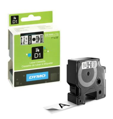 D1-Band für LabelPOINT -MANAGER schwarz weiß 24mm x 7m